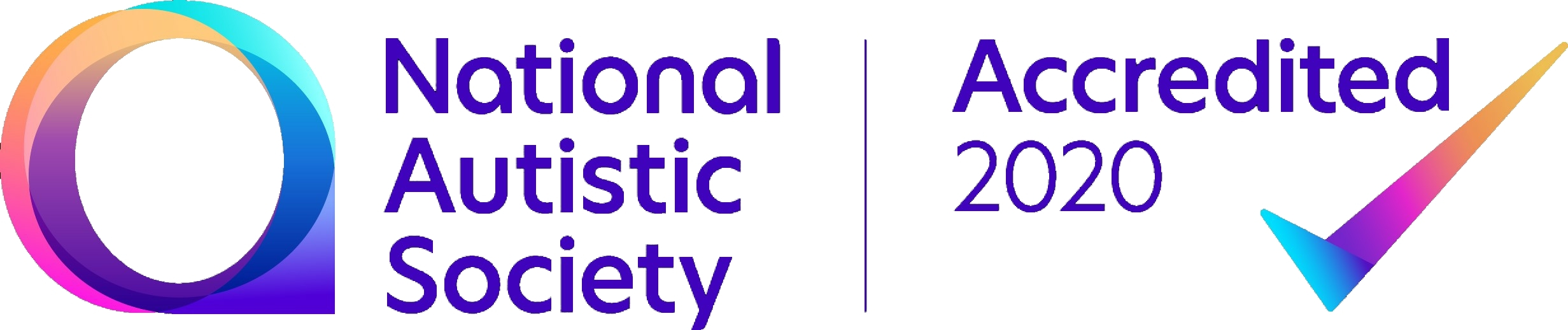 National Autistic Society Accreditation Logo